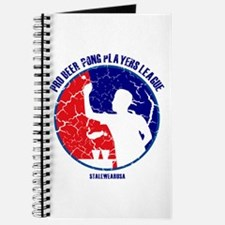 Retro/Distressed Beer Pong Pl Journal