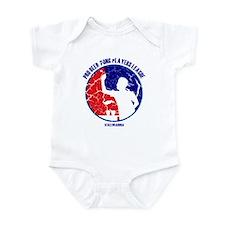 Retro/Distressed Beer Pong Pl Infant Bodysuit