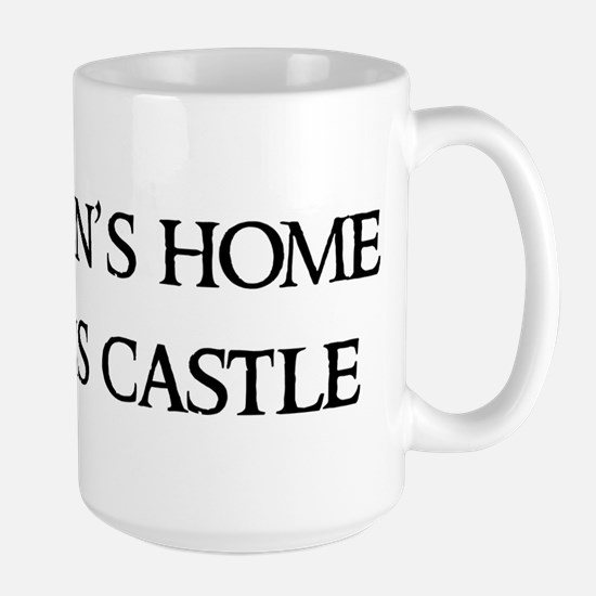 A man's home Mugs