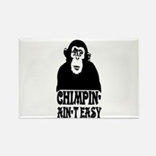 """""""Chimpin Ain't Easy: Pimpin Aint Easy"""" Rectangle M"""