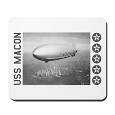 USS Macon Airship Mousepad