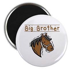 Horse Big Brother Magnet