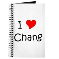 Cool Chang Journal
