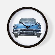 1957 Chieftain Car Wall Clock