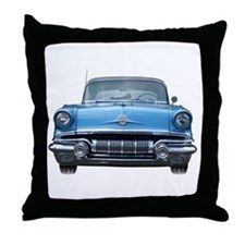 1957 Chieftain Car Throw Pillow