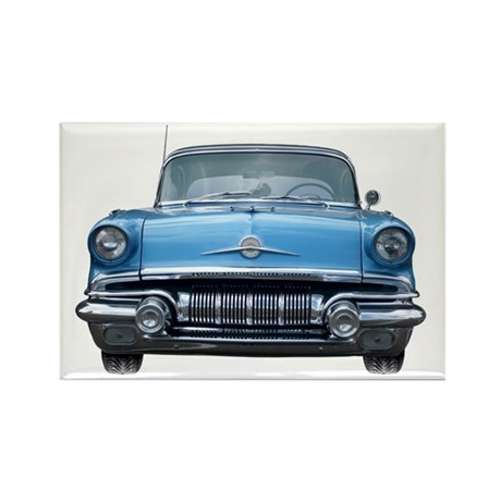1957 Chieftain Car Rectangle Magnet