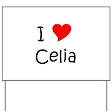 Celia Yard Sign