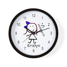 Clarinet - Krislyn Wall Clock