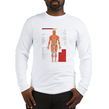 2-MuscleAnterior Long Sleeve T-Shirt