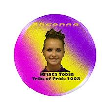 """Krista Tobin 3.5"""" Button"""