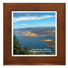 Framed Tile - View of North Shore