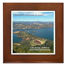 Framed Tile - Buckingham Point