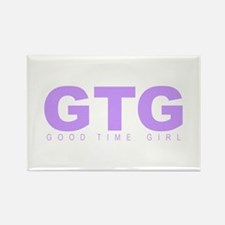 "'Good Time Girl"" Rectangle Magnet"
