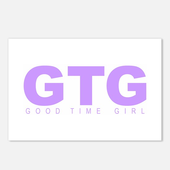 """'Good Time Girl"""" Postcards (Package of 8)"""
