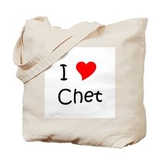 Funny Chet Tote Bag