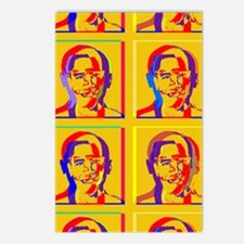 Obama Warhol style Postcards (Package of 8)