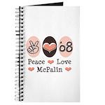 Peace Love McPalin Journal