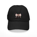 Peace Love McPalin Black Cap