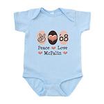Peace Love McPalin Infant Bodysuit