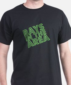 Bays In The Area - Green on T-Shirt
