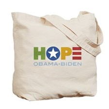 Obama Faces Yes We Can Tote Bag