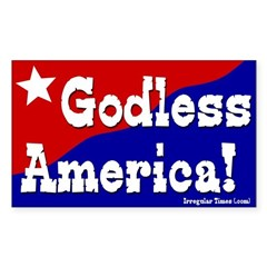 Godless America Bumper Decal