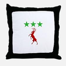 Cute Ireland coat of arms Throw Pillow