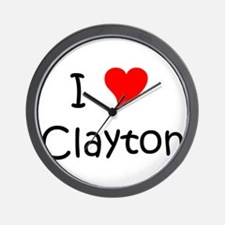 Funny Clayton Wall Clock
