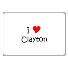 Unique Clayton Banner