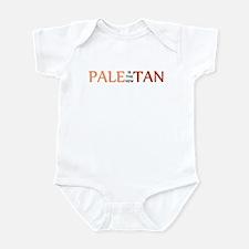 PALE IS THE NEW TAN SHIRT BUM Infant Bodysuit