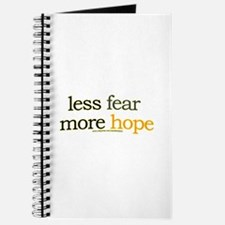 less fear, more hope Journal