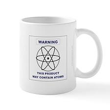 'Product May Contain Atoms' Mug