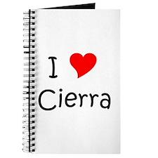 Cool Cierra Journal