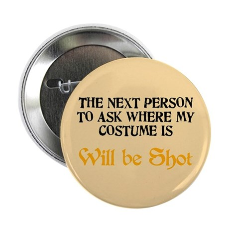 """Halloween Costume 2.25"""" Button (100 pack)"""