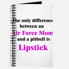 Air Force Mom Pitbull Lipstick Journal