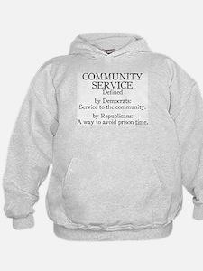 Community Service Defined Hoodie