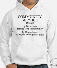 Community Service Defined Hoodie
