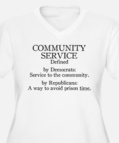 Community Service Defined T-Shirt