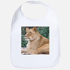 Lioness Portrait Bib