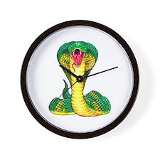 Cobra Snake Tattoo Art Wall Clock