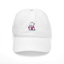Material Girl Westie Baseball Cap