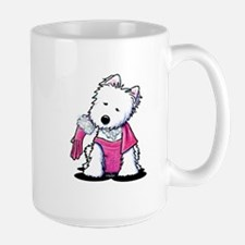 Material Girl Westie Mug