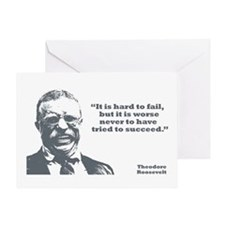 Roosevelt - Failure Greeting Card