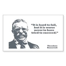 Roosevelt - Failure Rectangle Decal