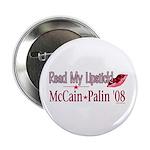 McCain Palin Read My Lipstick 2.25