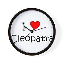 Unique Cleopatra Wall Clock