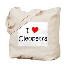 Cute Cleopatra Tote Bag