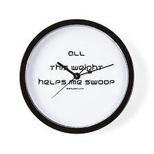 Swoop Weight Wall Clock