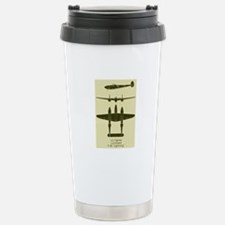 P-38 Stainless Steel Travel Mug