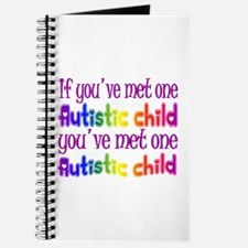 One Autistic Child Journal